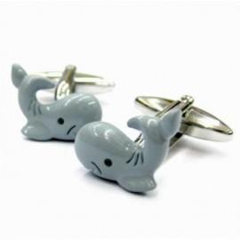 Grey Whale Cufflinks