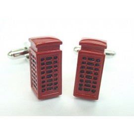 London Phone Box Cufflinks